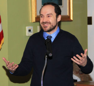 Andrew Smaha, Executive Director of the Yarmouth Chamber of Commerce