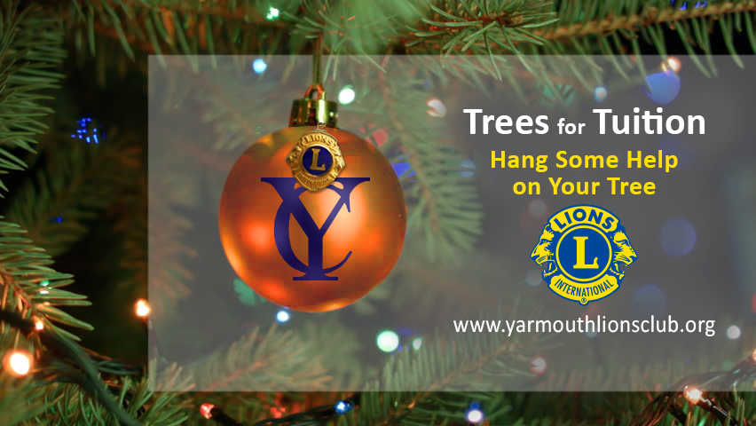 Christmas Trees for Yarmouth High School Scholarships