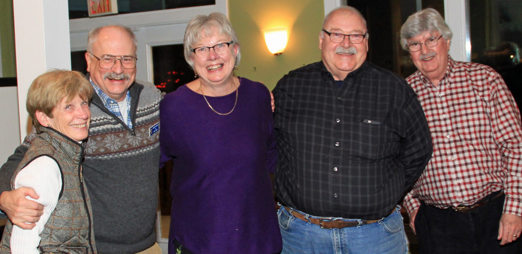 Johnathan and Linda Shute are the first new Yarmouth Lions of 2018