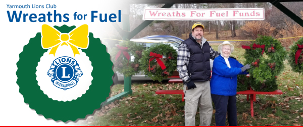 Wreaths for Fuel - Yarmouth Lions