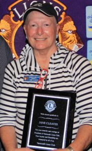 Jane Cleaves | Past Yarmouth Lions Club President